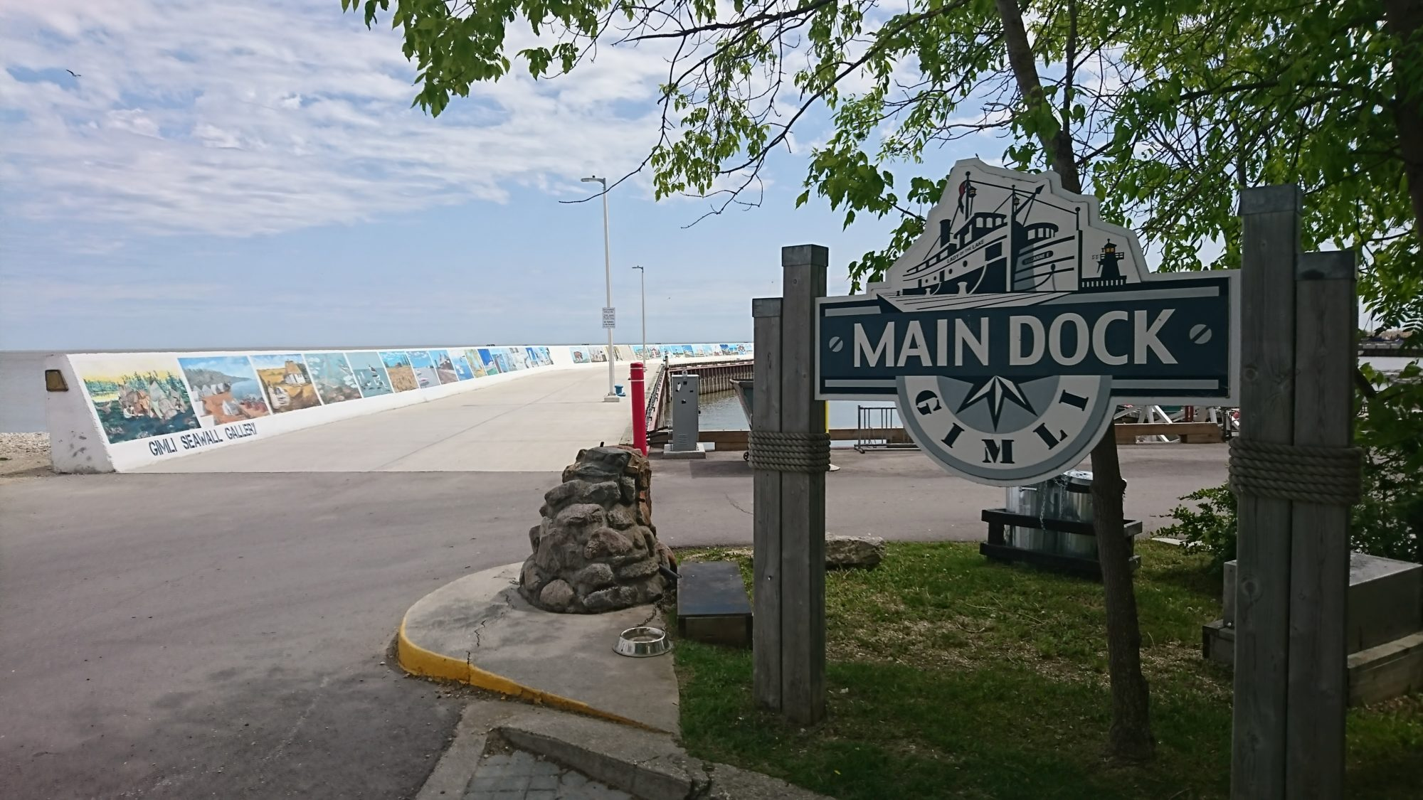 Gimli Main Dock