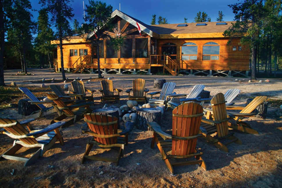 Gangler 39 s north seal river lodge travel manitoba for Manitoba fishing lodges