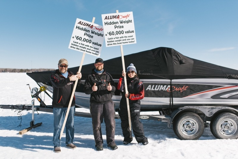 Falcon Lake Winter Fish-Off Derby in the Whiteshell - Hunt