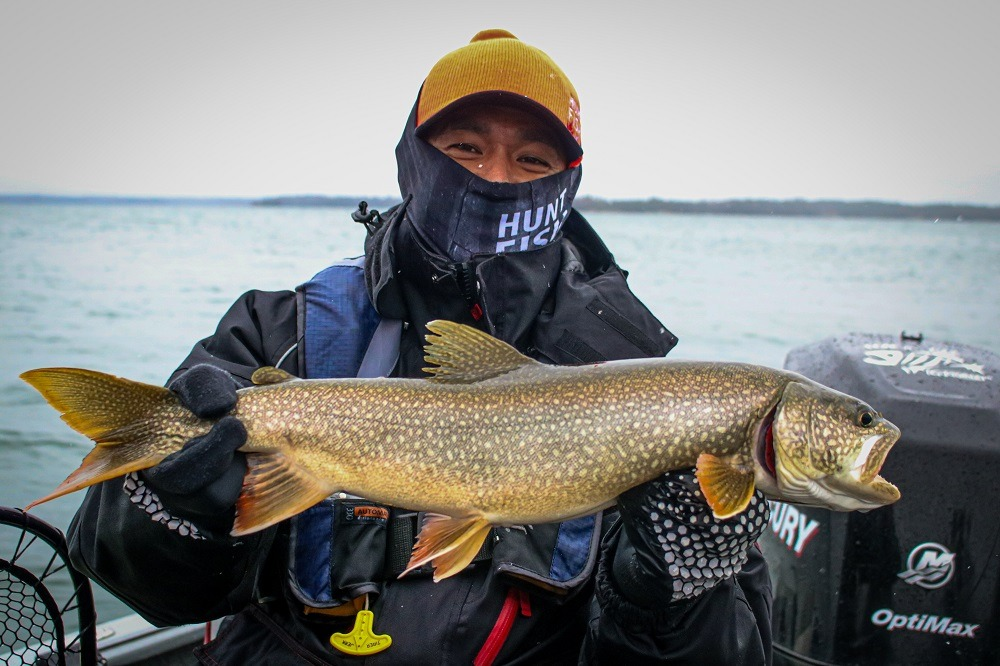Eric smaller lake trout