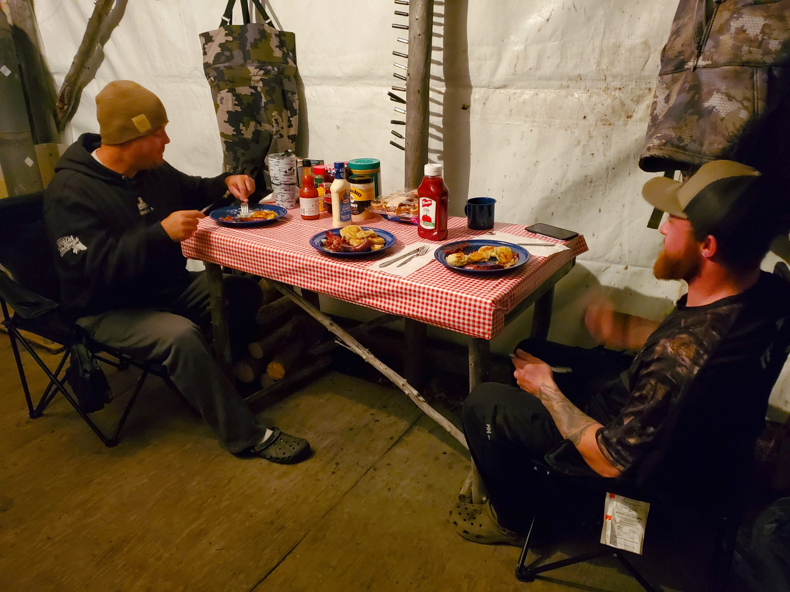 Moose hunting outfitter